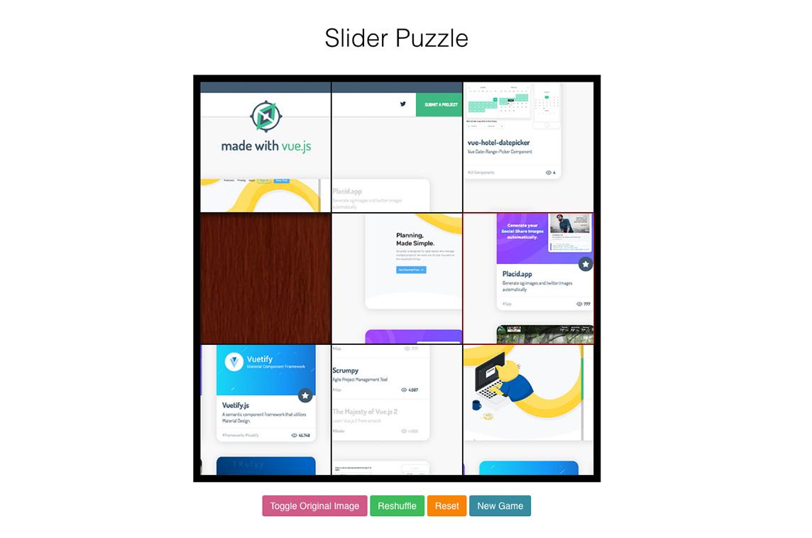 simulator de viziune puzzle